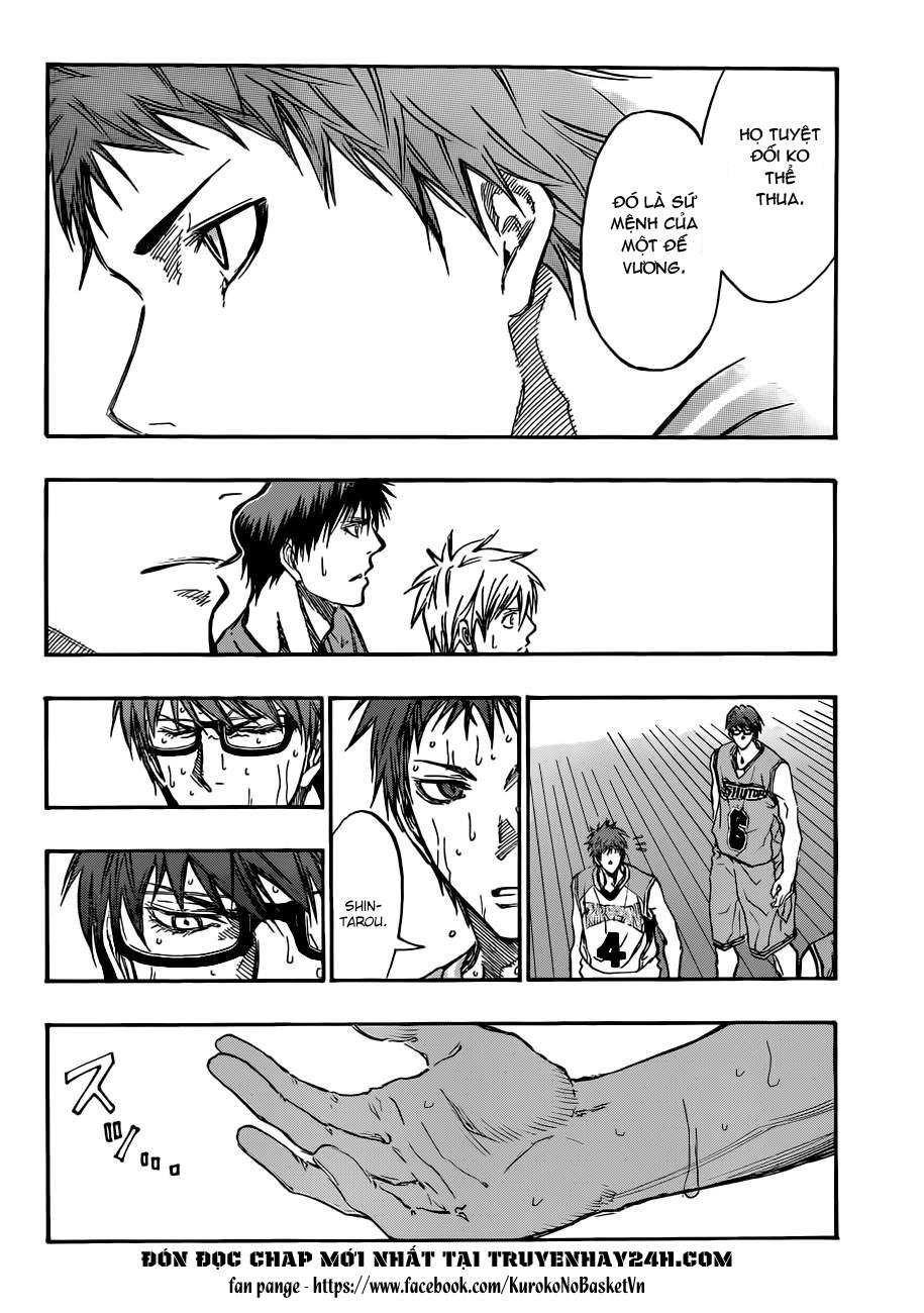 Kuroko No Basket chap 183 trang 4