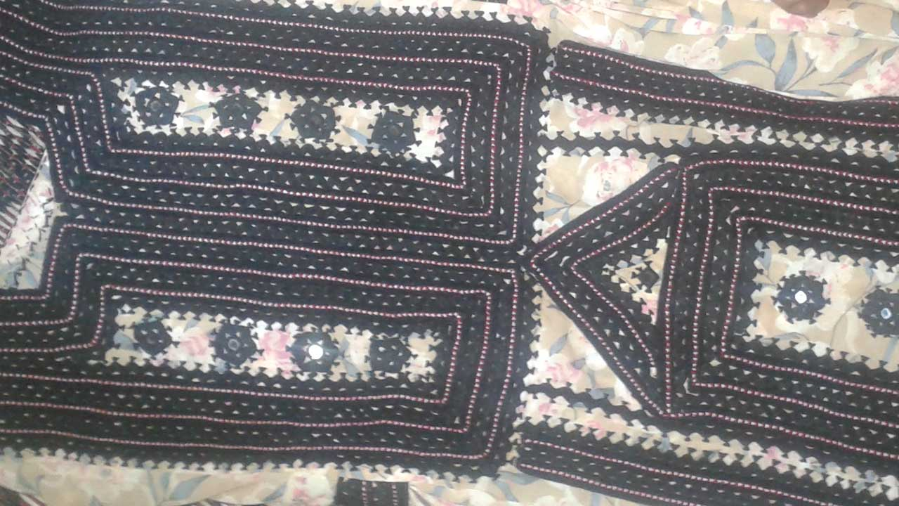 balochi dress photo -2