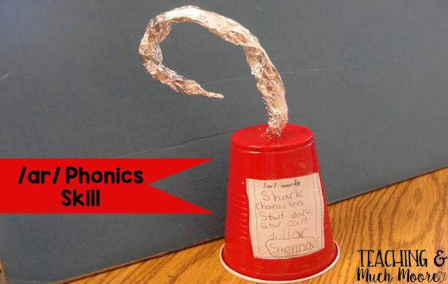 teacher /ar/ phonics skill