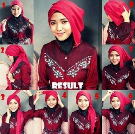9 Tutorial Hijab Pashmina Untuk Kebaya Yang Elegan Dan Mempesona