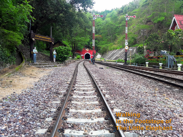 Khun Tan train station and tunnel in North Thailand