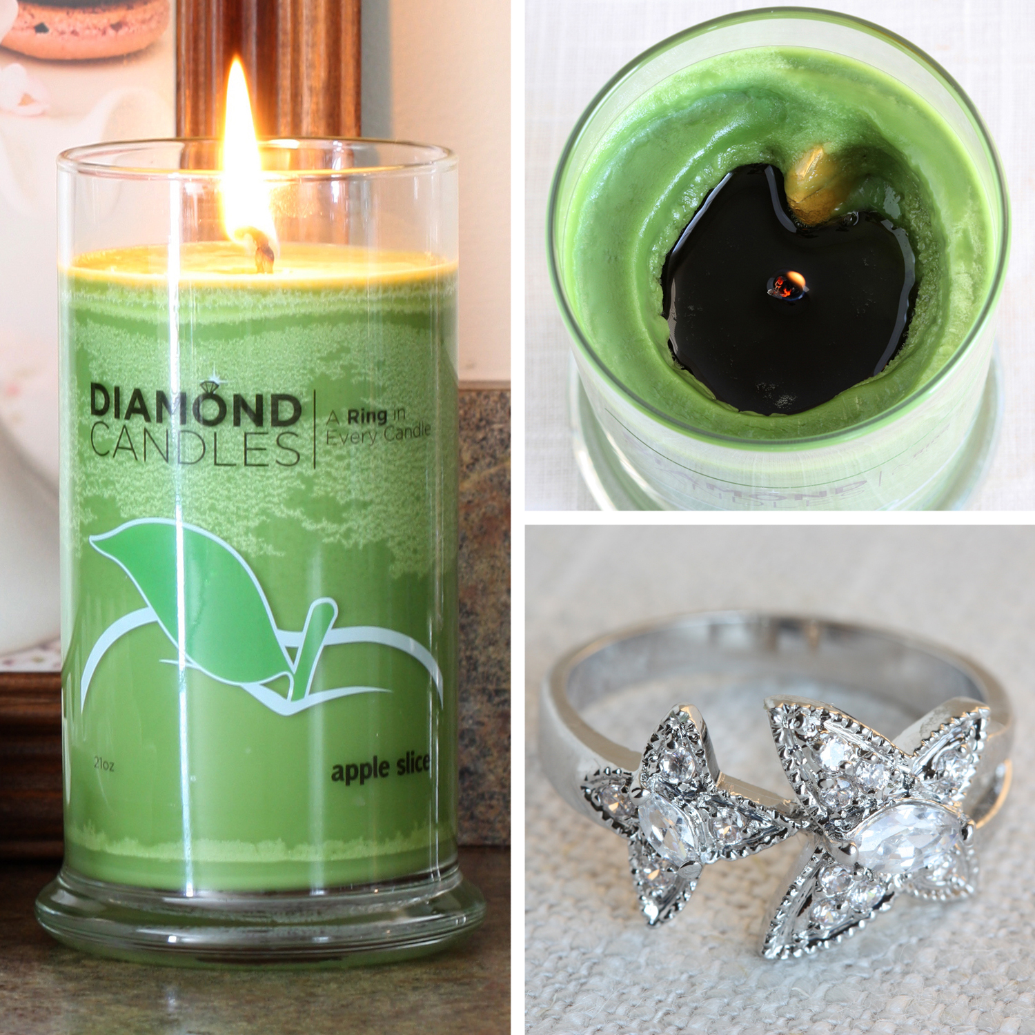 Candles With Gifts Inside That Winsome Girl Diamond Candles Review And Giveaway