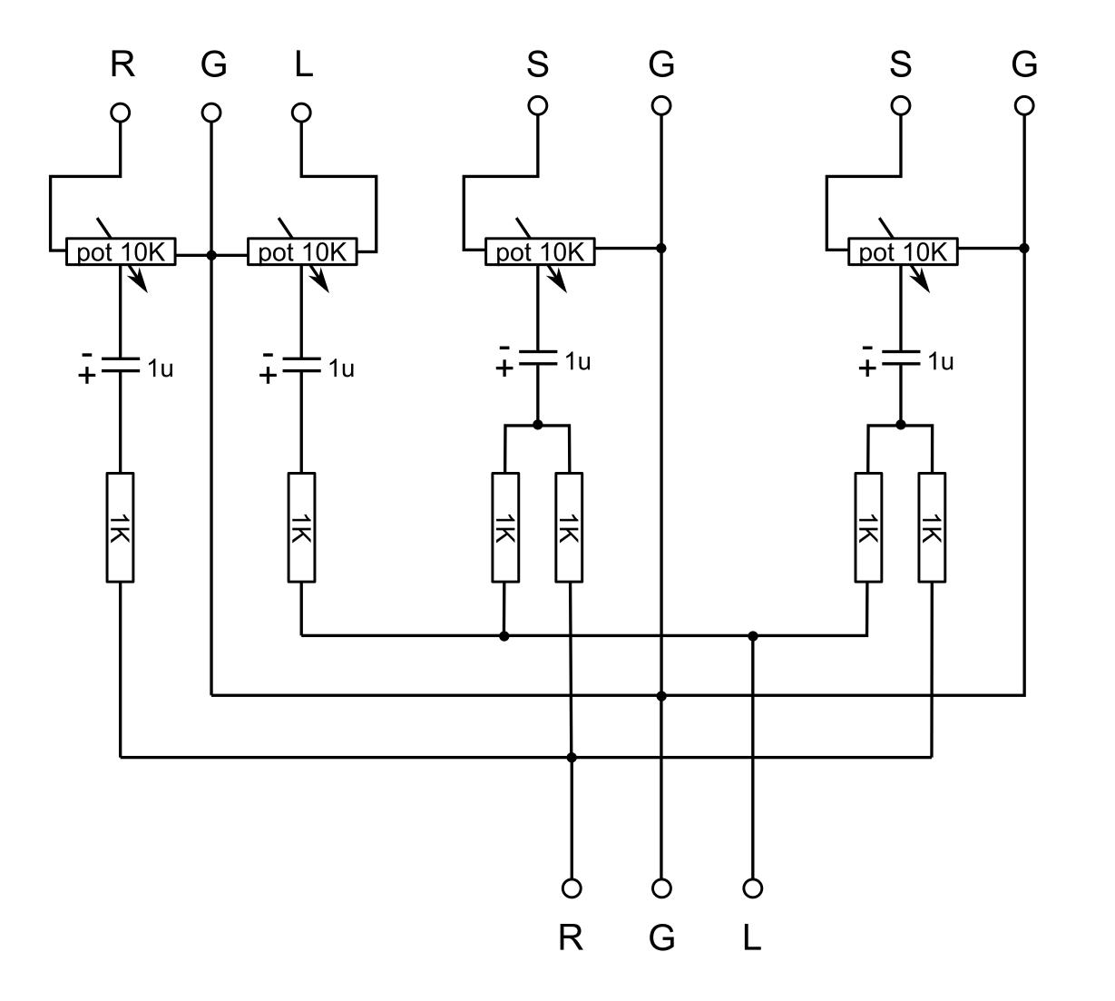Mono Wiring Diagram Cyclic Photophosphorylation Therandomlab Simple Passive Stereo To Audio