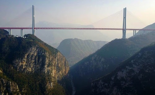 Dunge bridge - China - Ponte mais alta do mundo