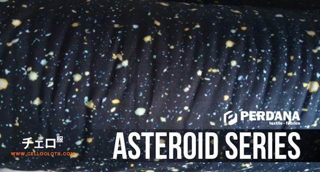 Bahan Kain Dri-fit Gravity, Rayon Spandek Vega & Vesta Hingga Asteroid Series