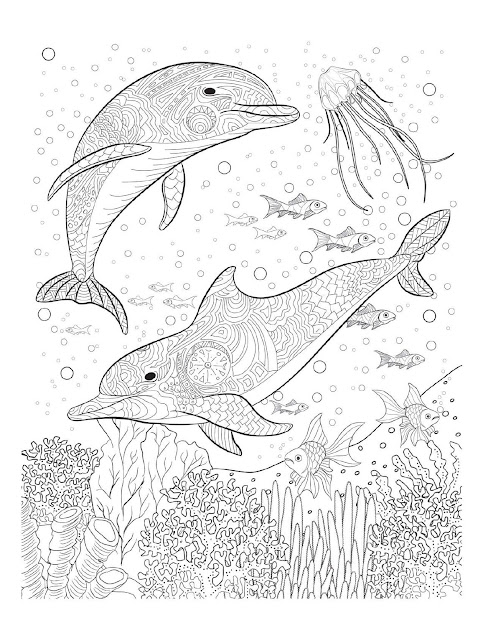 Oceana Coloring Pages