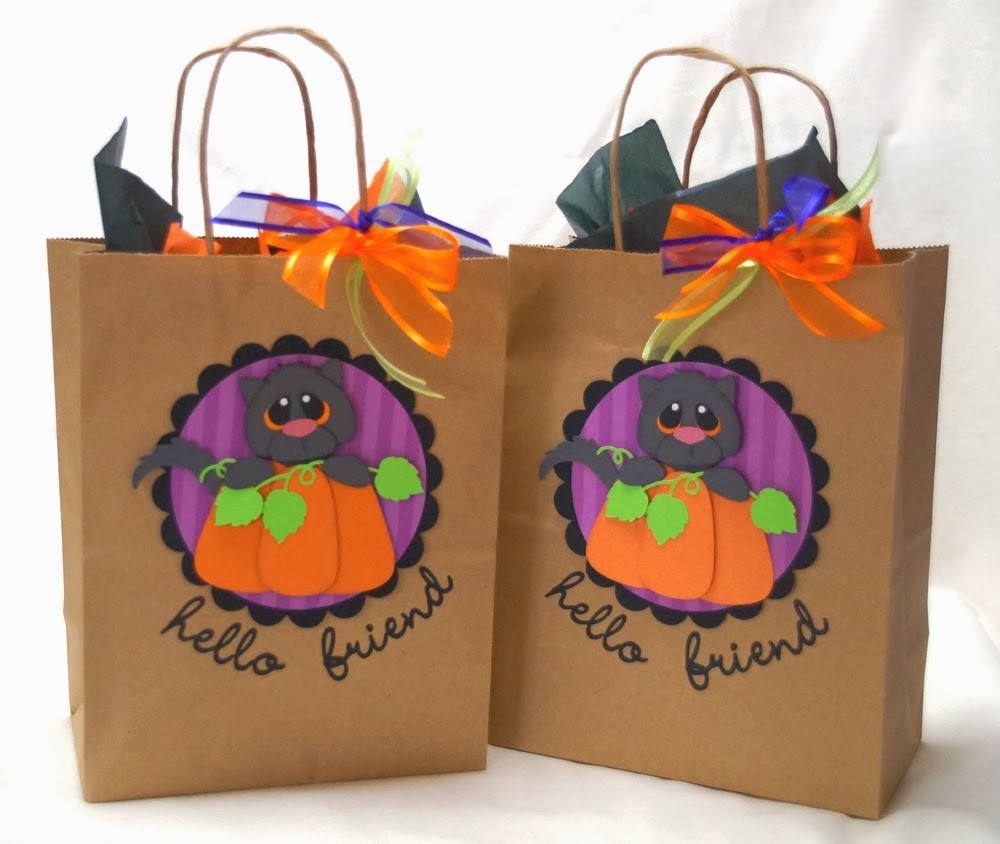 a star for chiemi: halloween gift bags and a riddle