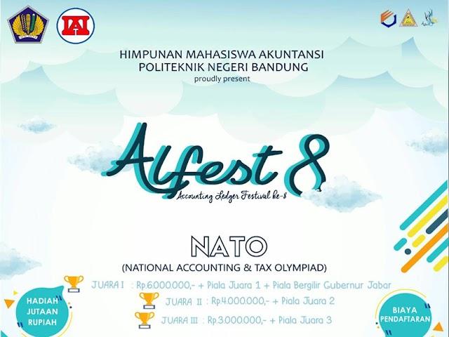 Hima Politeknik Negeri Bandung Gelar Accounting Ledger Festival 8