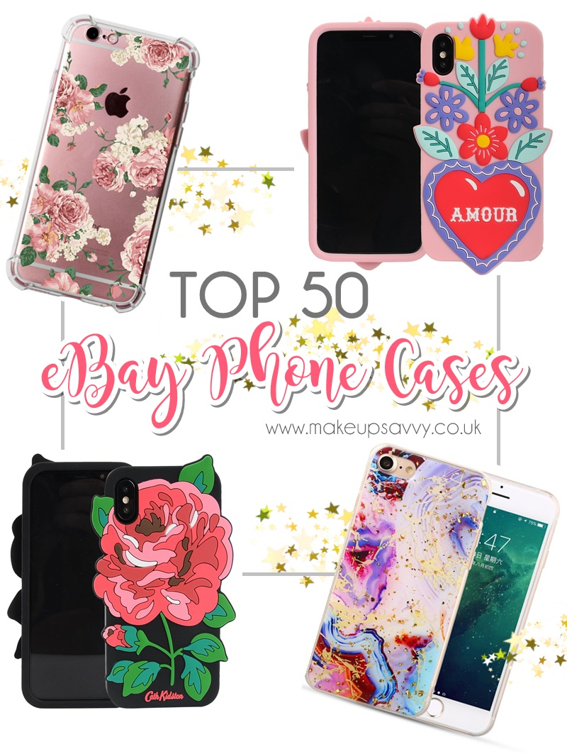 Top 50 Cheap Phone Cases On Ebay 2018 Makeup Savvy Makeup And Beauty Blog