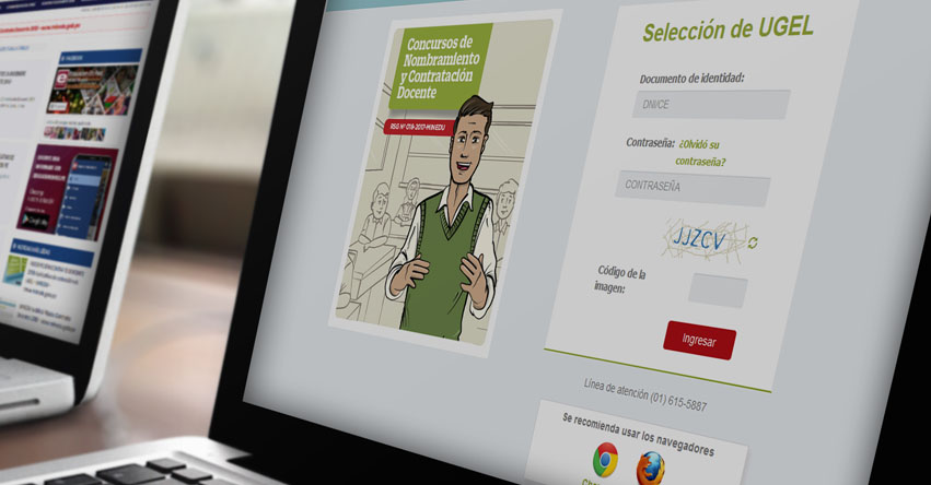 CONTRATO DOCENTE 2018: NO deben llevar el formato de selección de plazas vacantes al Banco de la Nación - MINEDU - www.minedu.gob.pe