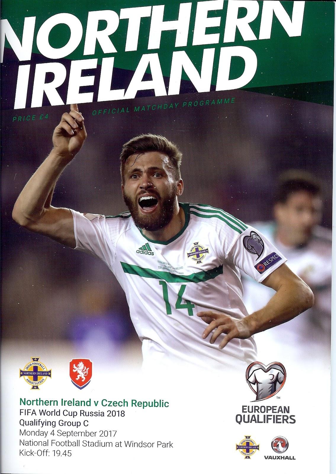 6181b80cdf55f NIFG: Northern Ireland Match Programmes 2016-date