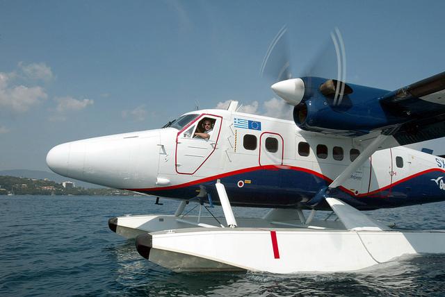 Ξεκίνησαν δοκιμαστικές πτήσεις των υδροπλάνων στο Ιόνιο