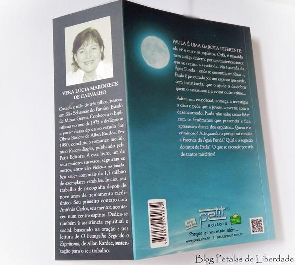 Resenha, livro, O enigma da fazenda, Vera Lúcia Marinzeck de Carvalho, Petit, romance-policial, romance-espirita, o-enigma-da-fazenda, trechos