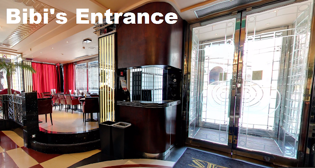 Entryway into Bibi's