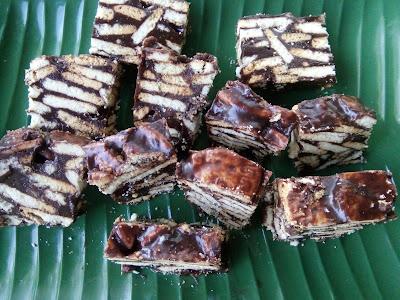 Kek Batik Milo Sedap