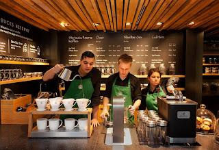 Starbucks Concept Store, Amsterdam