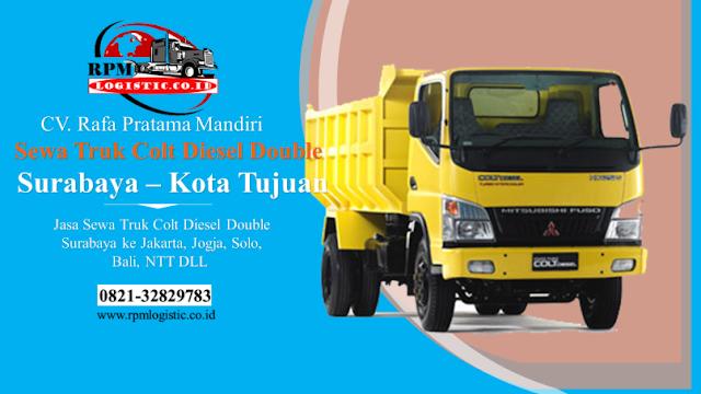 Sewa Truk Colt Diesel Double CDD Surabaya Sidoarjo Gresik