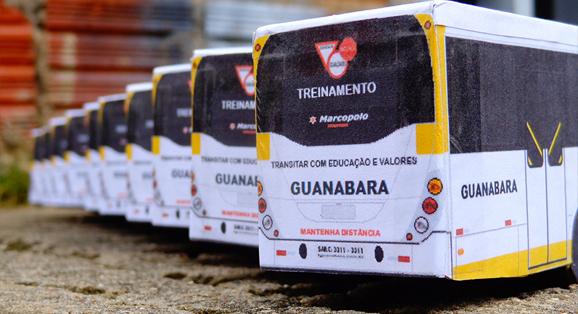 Em Miniaturas confecciona 25 unidades do novo veículo de treinamento da Transportes Guanabara
