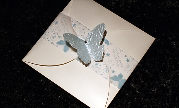 Cheap Butterfly Wedding Invitations: Destination Wedding Invitations: Butterfly Wedding Invitations