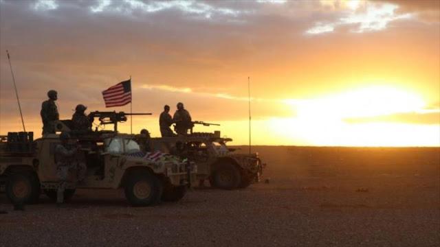 EEUU realiza gran maniobra con grupos armados en el sur de Siria