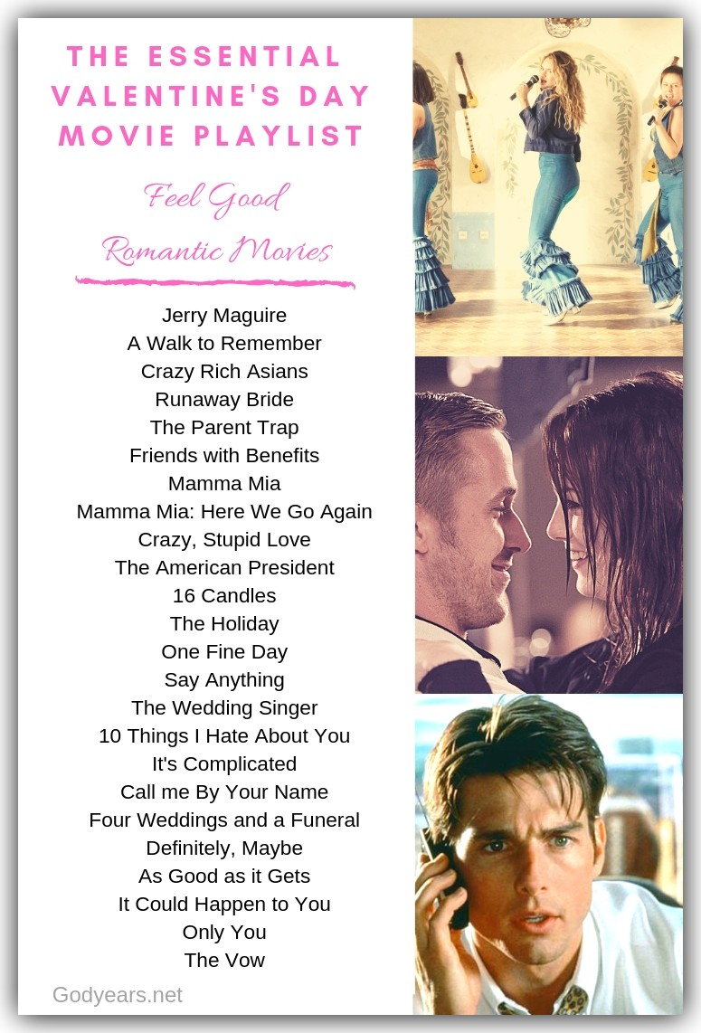 part four of this Valentine's Day movie playlist features an all-time fav genre : feel-good romance.