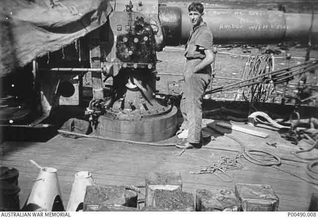 Sailor Harold Dunn aboard HMAS Parramatta, KIA,27 November 1941 worldwartwo.filminspector.com