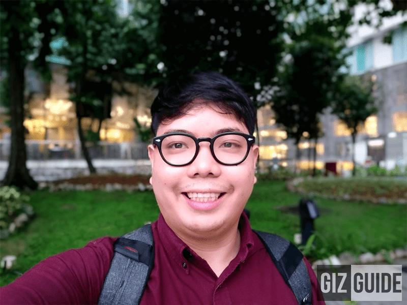 Daylight selfie focus!
