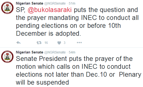Senate and INEC