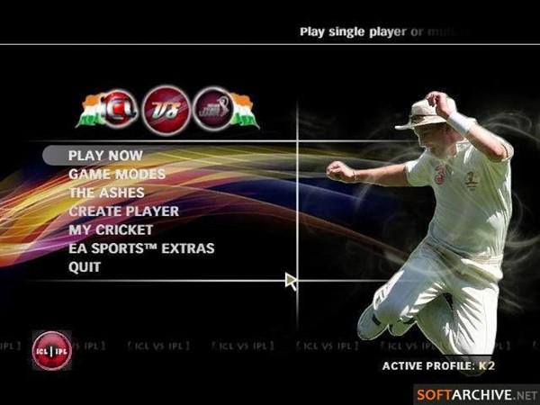 EA Sports Cricket 2009 IPL vs ICL Free Download