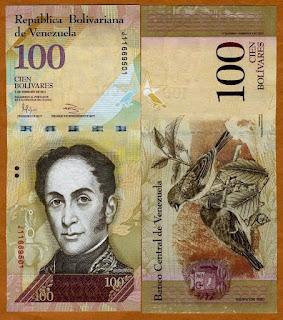 Maduro saca de circulación el billete de 100 Bolívares