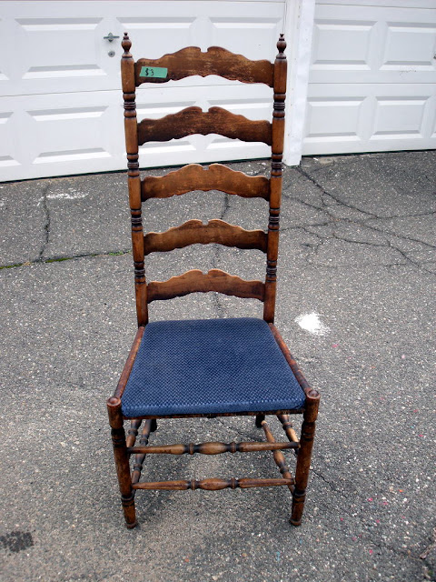 Chairs For Sale Craigslist Velvet Chair Design Number Fifty-three: Quick Antique Ladder Back Makeover