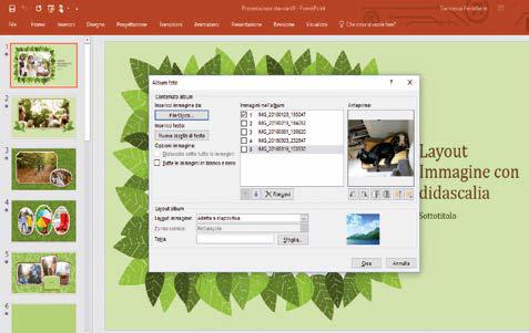 Come inserire nuove immagini per creare album in powerpoint