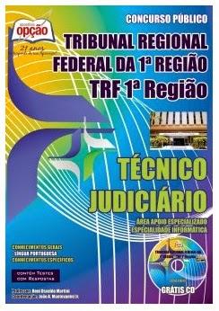 Apostila para Concurso TRF 1ª Região Técnico Judiciário - Área Apoio Especializado - Especialidade Informática