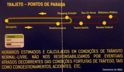 Curitiba - Como ir do aeroporto ao centro de ônibus executivo