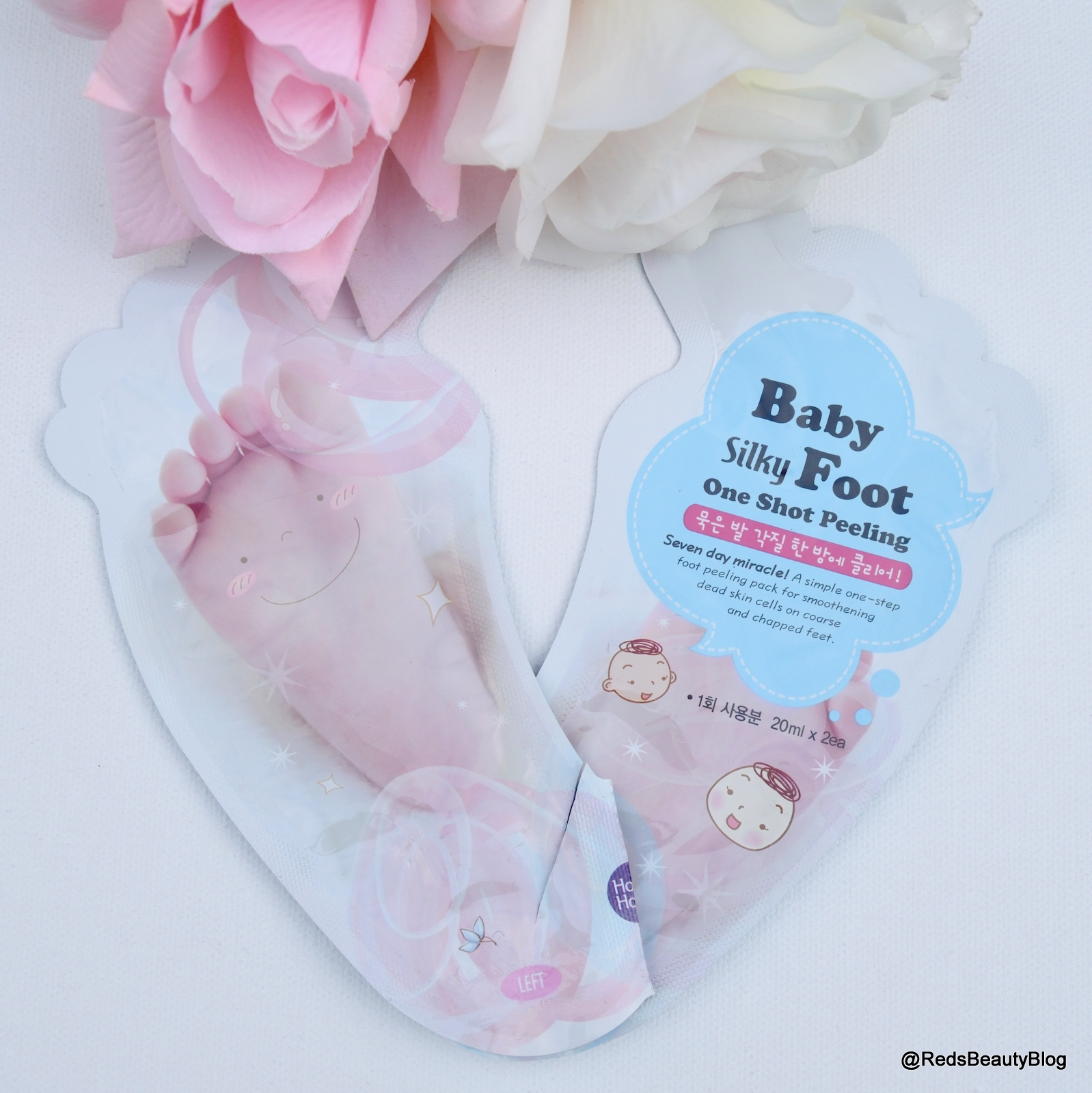 a picture of Holika Holika Silky Foot One Shot Peel