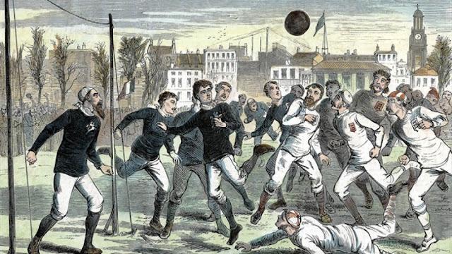 30 Νοεμβρίου 1872: Αγγλία - Σκωτία,  το πρώτο επίσημο διεθνές ποδοσφαιρικό παιχνίδι που καταγράφηκε