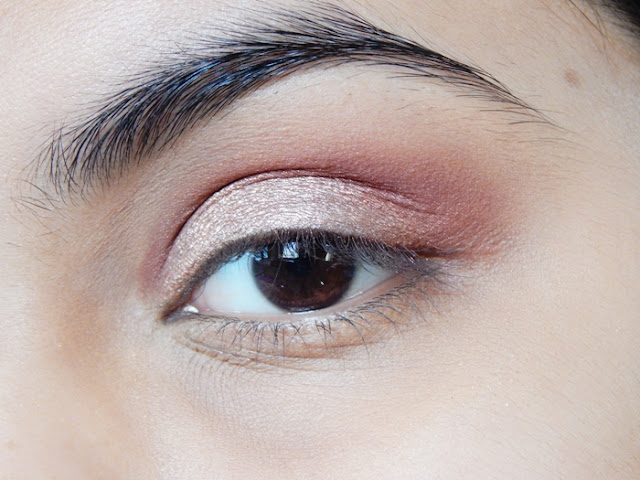 Copper Rose Gold Eyeshadow