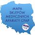 Mapa sklepów medycznych sprzedających aparaty CPAP w Polsce