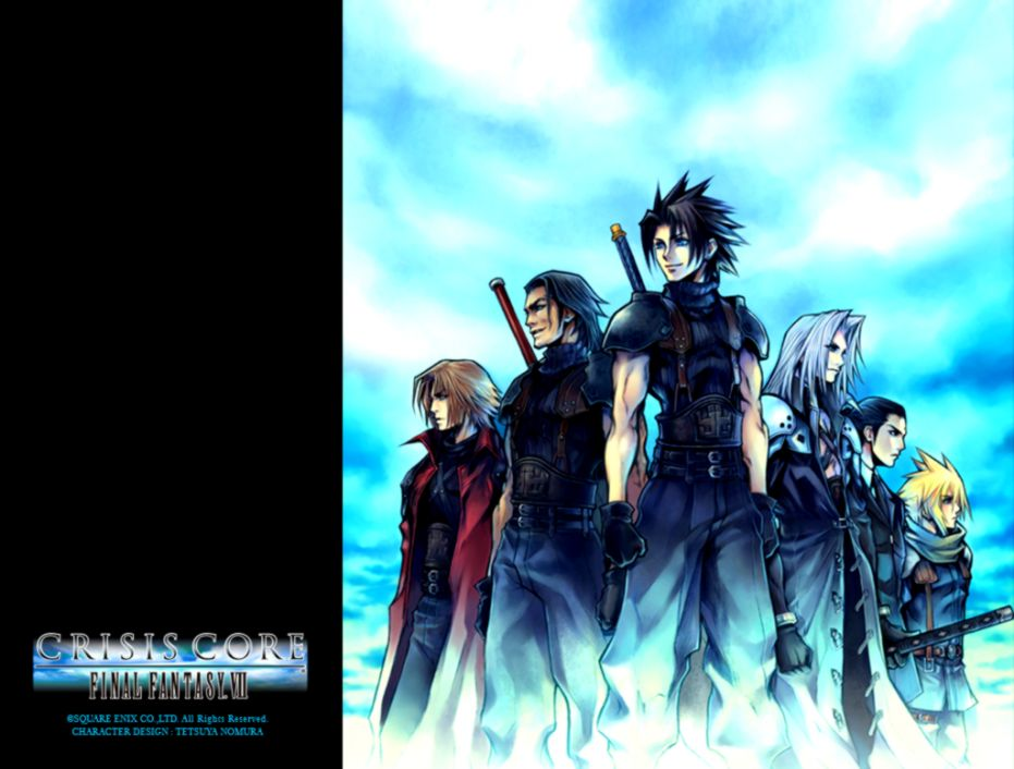 Final Fantasy VII Crisis Core FF7CC Wallpapers
