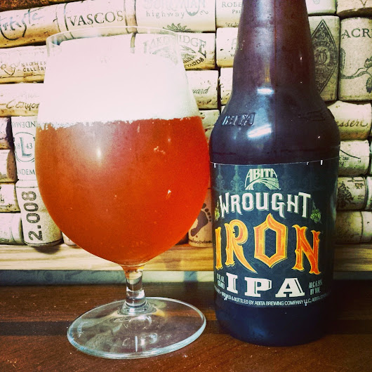 The BR Beer Scene: Review: Abita Wrought Iron IPA