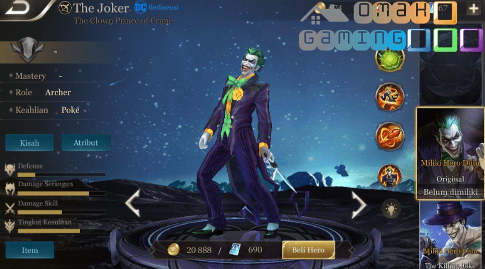 Review hero joker arena of valor