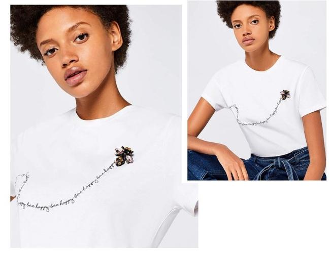 Camisetas con mensajes en Amazon