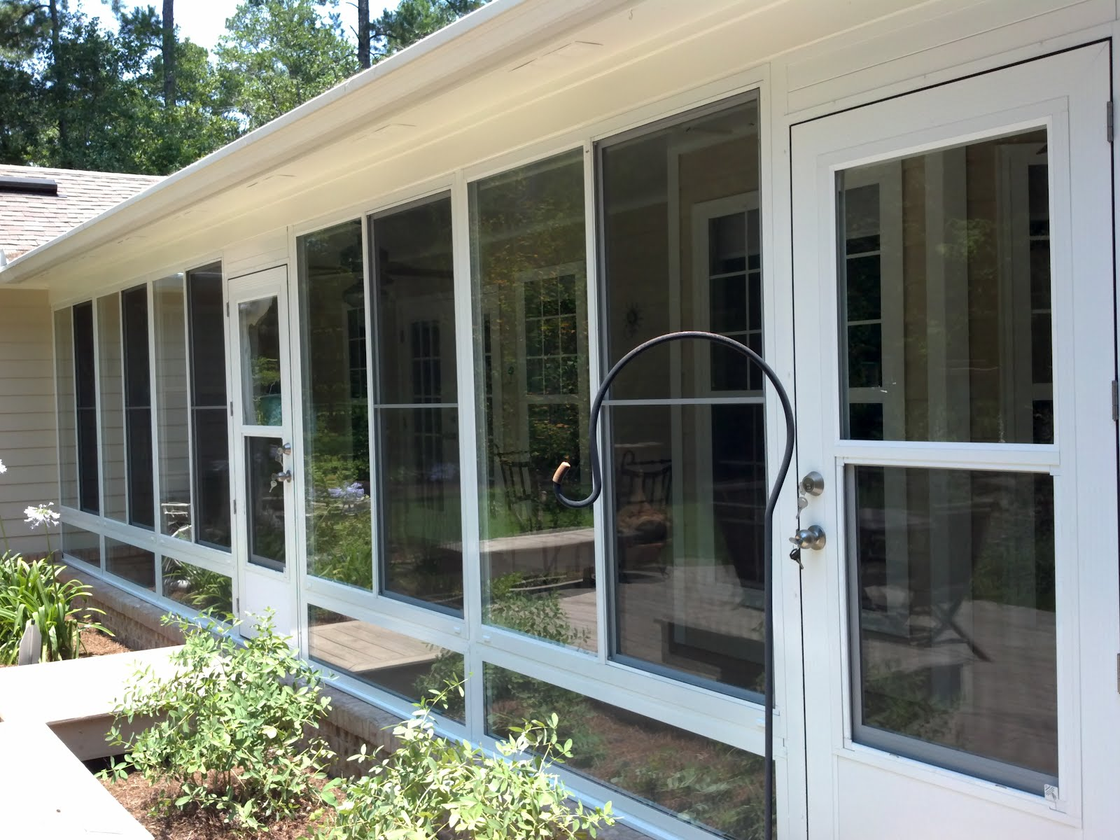 Screen Rooms Tallahassee: Glass Patio Enclosure Project. on Outdoor Patio Enclosures  id=72470