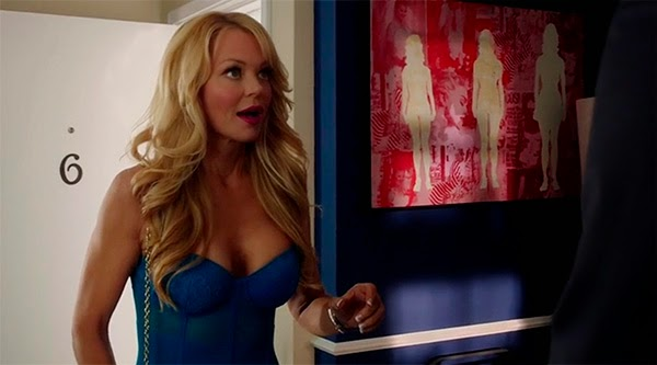 Charlotte Ross en Arrow 3x05