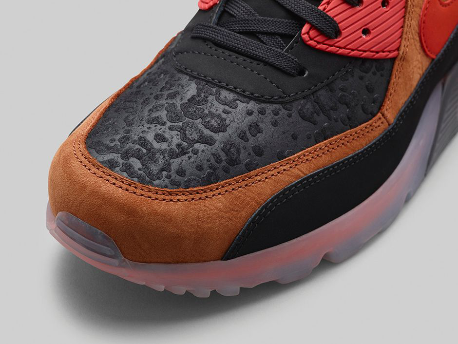 promo code aafca 2bec8 ... good nike air max 90 ice hw qs. halloween. black cognac total orange  team