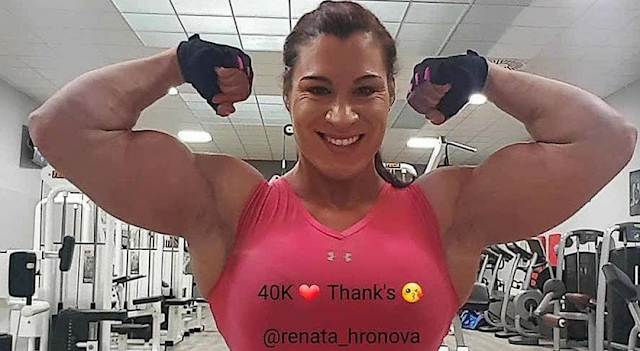 Clip Female Bodybuilding Beauty & Muscle Growth