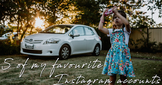 5 of my favourite Instagram accounts {part one} | Social Media
