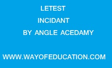 LATEST INCIDENT BY ANGEL ACADEMY