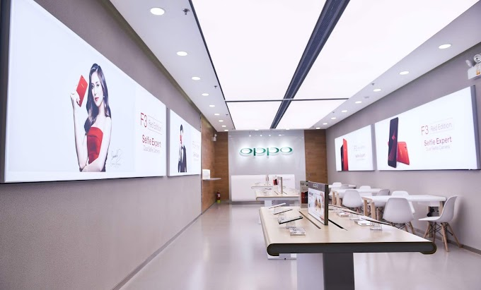 Oppo Launches Red F3 Limited Edition, Opens SM Aura Concept Store