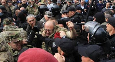 На акциях в честь 9 мая задержаны несколько десятков активистов